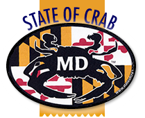 State of Crab Maryland Bumper Stickers