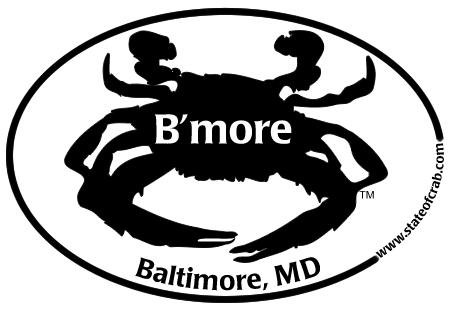 Baltimore, Maryland Bumper Sticker