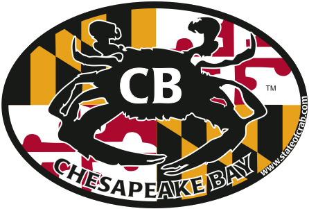 Cheaspeake Bay, Maryland Bumper Sticker