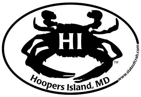 Hoopers Island Maryland Bumper Sticker