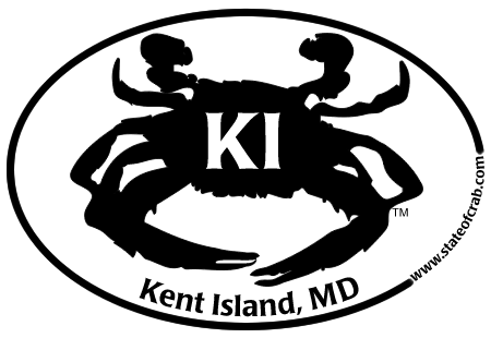 Kent Island, Maryland Bumper Sticker
