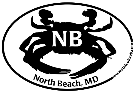 North Beach Maryland Bumper Sticker