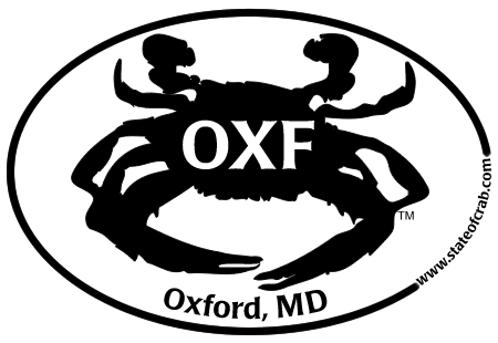 Oxford, Maryland Bumper Sticker